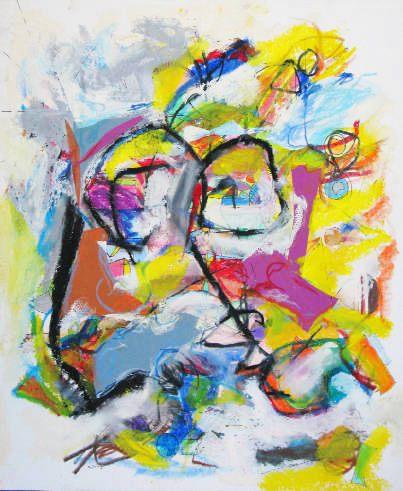 Dibujos abstractos pintura cuadros Cristian Valenzuela Montiglio