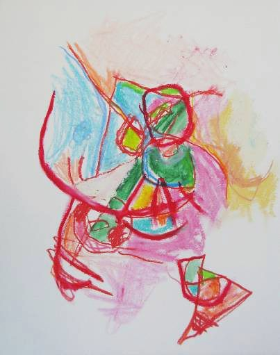 Dibujos abstractos Cristián Valenzuela Montiglio #045