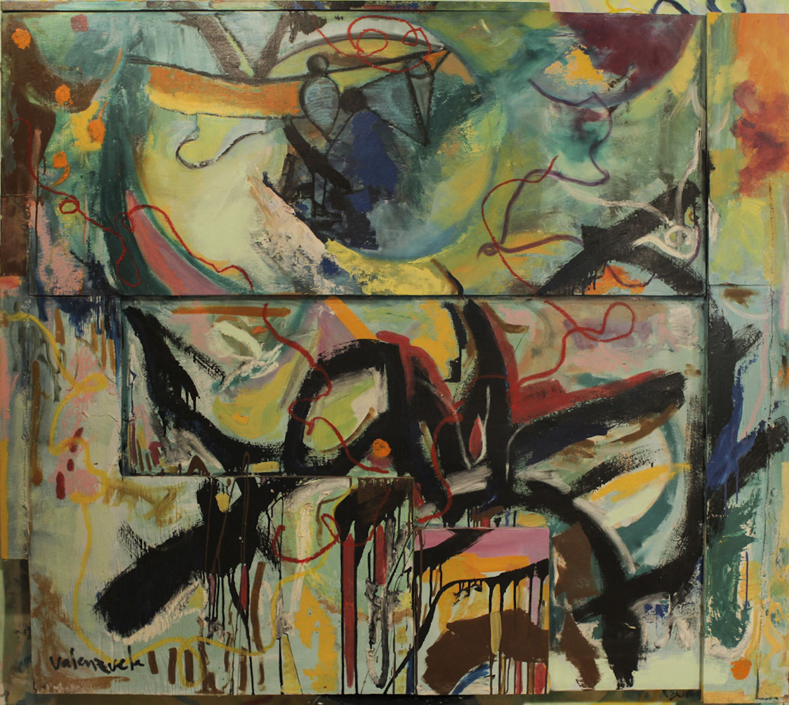 Cristian valenzuela montiglio abstract paintings for Online art gallery paintings